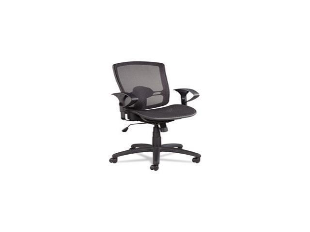 Etros Series Suspension Mesh Mid-Back Synchro Tilt Chair, Mesh Back/Se