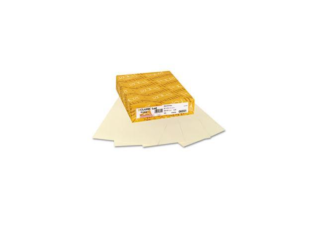 Classic Laid Stationery Writing Paper, 24-lb, 8-1/2 x 11, Baronial Ivory, 500/Rm