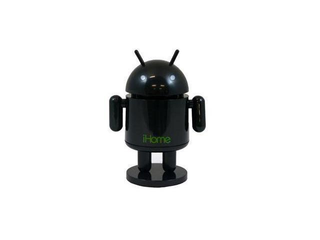 Rechargeable Robot Speaker (Black)