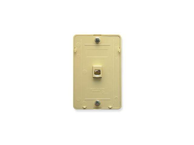 Wall Plate IDC 6P6C IVORY