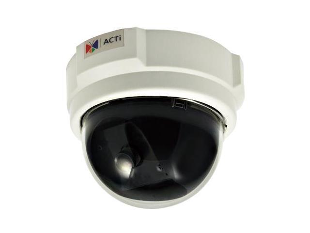 ACTi D52 RJ45 3MP Indoor Dome Camera with Fixed Lens