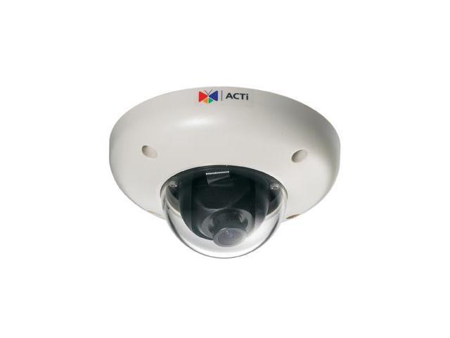 ACTi ACM-3701E RJ45 Megapixel IP Vandal Proof PoE Indoor Mini Dome Camera