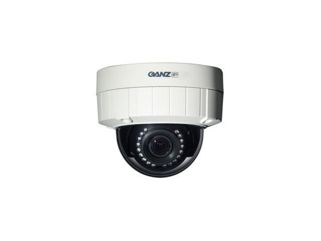 GANZ H.264 HD Optimized Outdoor IP Dome Camera (HD 720p) w/ IR
