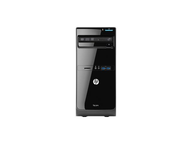 HP Business Desktop D3K31UT Desktop Computer - Intel Pentium G2120 3.10 GHz - Micro Tower