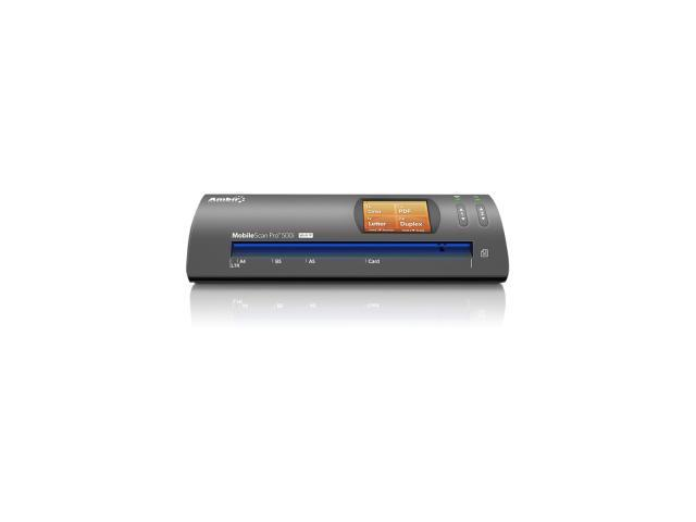 Ambir DS500i (DS500-AS) Mobile Sheetfed Scanner