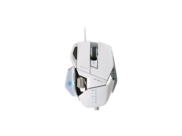Mad Catz R.A.T. 5 Gaming Mouse for PC and Mac - White
