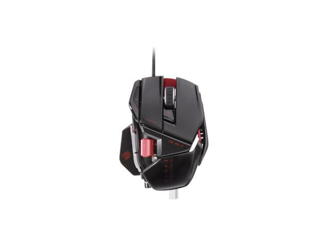 Mad Catz R.A.T. 7 Gaming Mouse for PC and Mac - Gloss Black