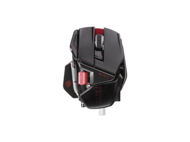 Mad Catz R.A.T. 9 Wireless Gaming Mouse for PC and Mac - Gloss Black