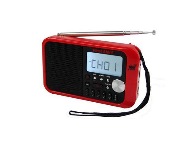 AM/FM NOAA Weather Band Clock Radio