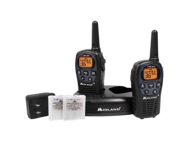 Midland LXT560VP3 36 Channel GMRS Radios - Black (LXT560VP3)