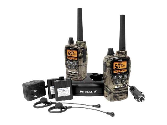 Midland GXT2050VP4 50 Channel GMRS Radios - Camo (GXT2050VP4)