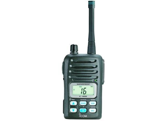 ICOM M88 11 Icom M88 Instrinsically Safe (IS) Handheld VHF Radio