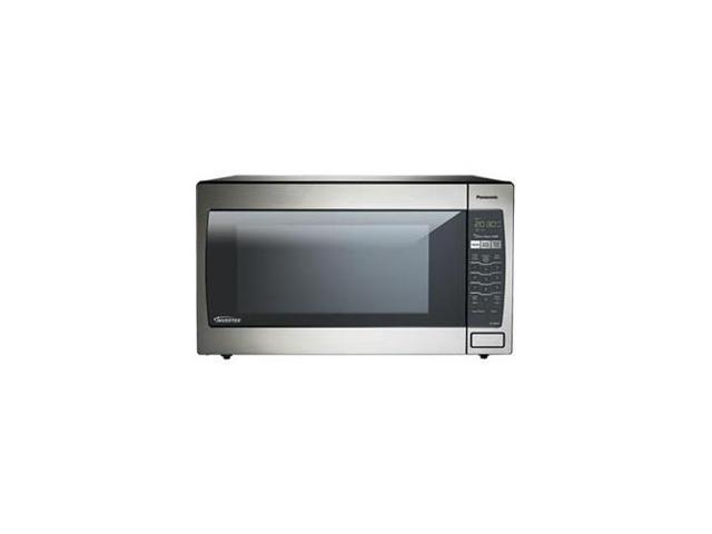 PANASONIC NN-SN952S 2.2 Cu. Ft.-1250 Watts Cooking Power , Stainless Front & Silver Body Microwave