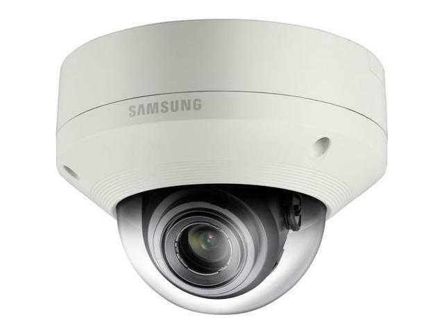 SAMSUNG SNV-5084 1.3 Mp 720p HD Vandal-Resistant Network Dome Camera with Built-In Motorized Varifocal Lens