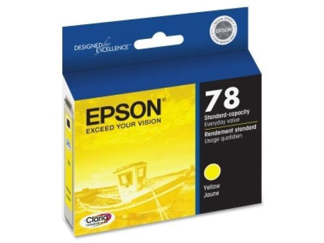 EPSON T078420 INK, YELLOW, CLAIA, HI-DEFINITION