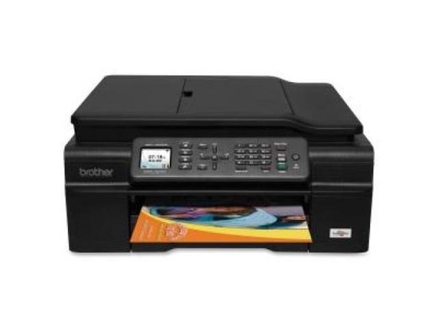 BROTHER MFC-J450DW MFC-J450DW Inkjet Multifunction Printer / 1200 x 6000 dpi Print LCD - 1200 dpi Optical Scan - Automatic Duplex Print - 100 ...
