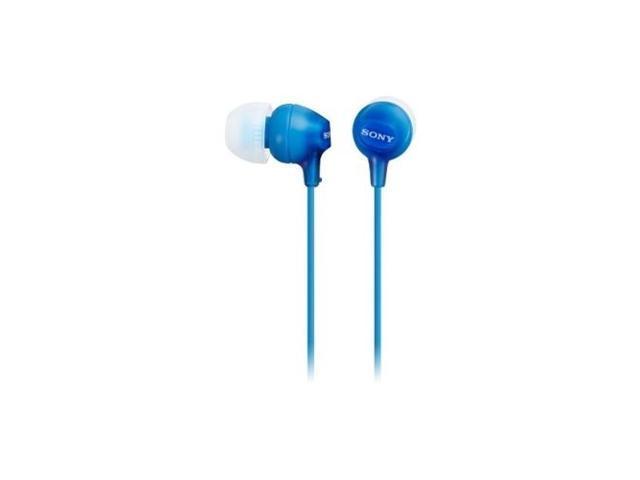 SONY MDREX15LP/L MDREX15LP IN-EAR HEADPHONE L-SHAPED MINI CLOSED DYNAMIC BLUE