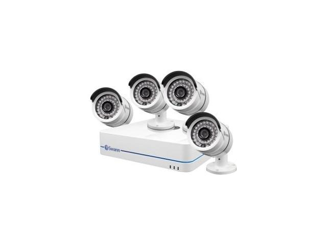 SWANN SWNVK-870854-US NVR8-7085 8 Channel 720p Network Video Recorder and 4 x NHD-806 Cameras
