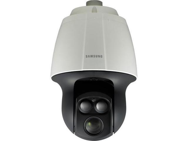 SAMSUNG SNP-6200RH 2 Mp Full HD Vandal-Resistant Network IR Dome Camera with Built-In 20x Optical Zoom Lens