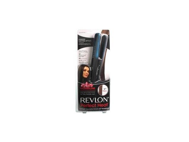 HELEN OF TROY RVST2108 Revlon Tourmaline Two-Tone Straightener - ceramic/ ionic/ tourmaline technology