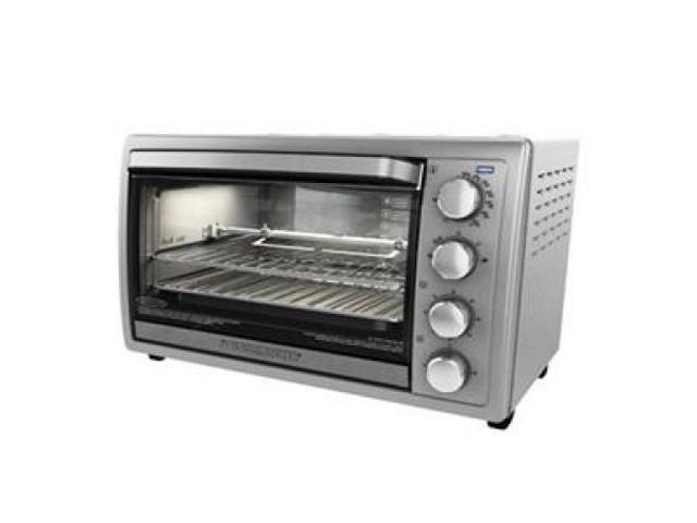 APPLICA TO4314SSD 9-Slice Rotisserie Convection Countertop Oven, Stainless