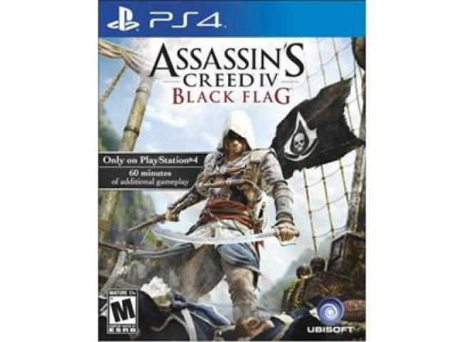 UBISOFT 35811 Assassins Creed IV: Black Flag Action/Adventure Game - PlayStation 4