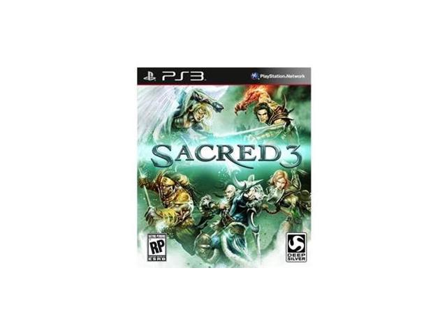 SQUARE ENIX D1146 Deep Silver Sacred 3 Action/Adventure Game - PlayStation 3