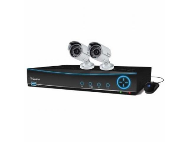 SWANN SWDVK-442002-US DVR4-4200 4 Channel 960H Digital Video Recorder and 2 x PRO-642 Cameras