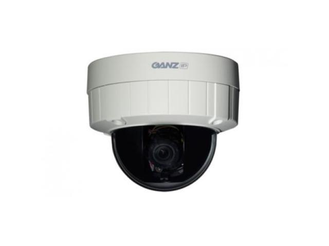 GANZ ZN-DT1MTP H.264 HD Optimized Outdoor IP Dome Camera (HD 720p)