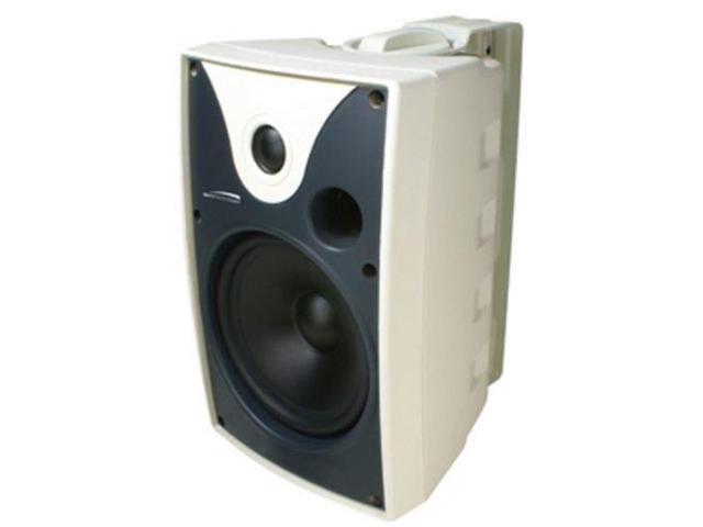 SPECO SP5AWXTW 40 W RMS Outdoor Speaker - 2-way - White