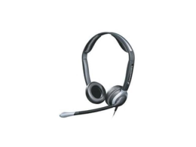 SENNHEISER ELECTRONIC CC540 Over-the-Head, Binaural Premium Communications Headset with Large Earcups (includes Ultra Noise Cancelling Microphone)