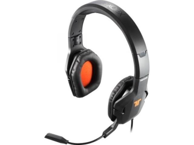 MAD CATZ TRI476760M02/02/1 Trigger Stereo Headset for Xbox 360 - Stereo - USB - Wired - Over-the-head - Binaural - Circumaural - 14 ft Cable ...
