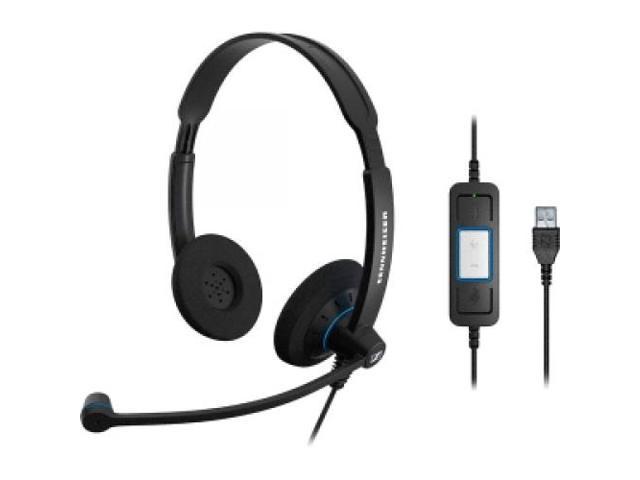 SENNHEISER ELECTRONIC SC60 USB CTRL Headset for UC Use