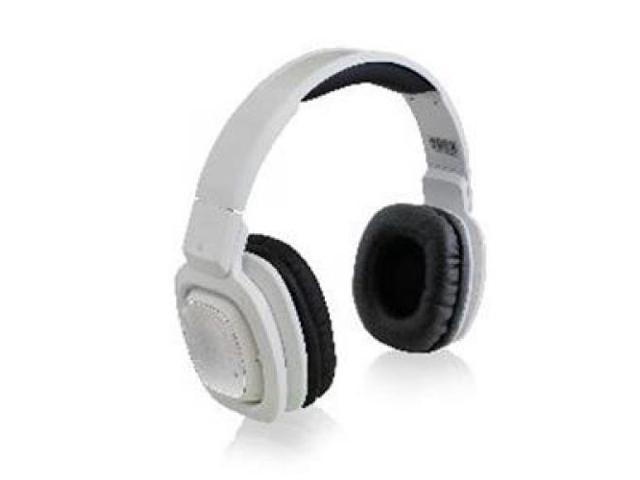 ADESSO XTREAM H3W XTREAM H3W OVER EAR HEADPHONE W/MIC BT ROTATABLE PIVOT WHITE