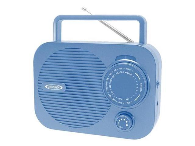 SPECTRA MERCHANDISING JEN-MR-550-BL Portable AM/FM radio (Blue)