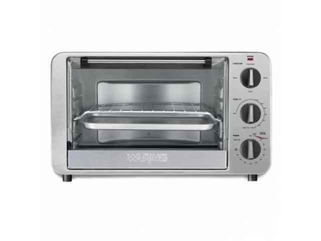 CONAIR TCO600 CONVECTION TOASTER OVEN / 1.50 kW Maximum Cooking Power - Toast, Bake, Broil - Brushed Stainless Steel