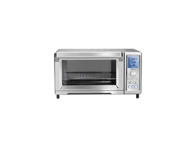 CONAIR TOB-260 CHEFS CONVECTION TOASTER OVEN DUAL COOK and SPEED CONVECTION