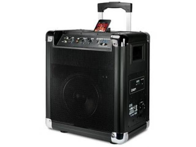 ION ION-BLOCK-ROCKER-BLUETOOTH Portable Speaker for iPhone w/bluetooth
