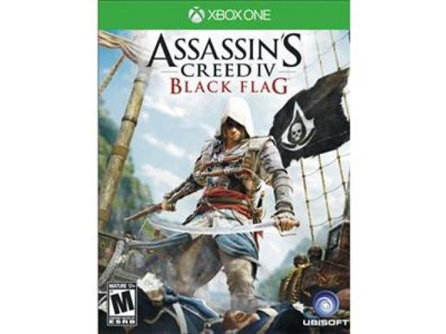 UBISOFT 53811 Assassins Creed IV: Black Flag Action/Adventure Game - Xbox One