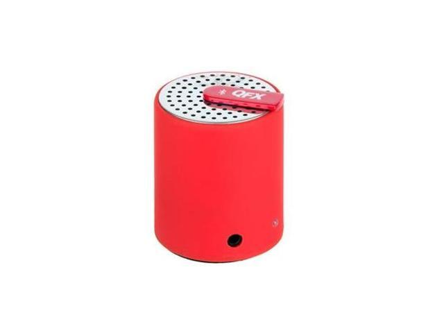 QFX CS-27RED Portable bluetooth speaker with aux-in - Red