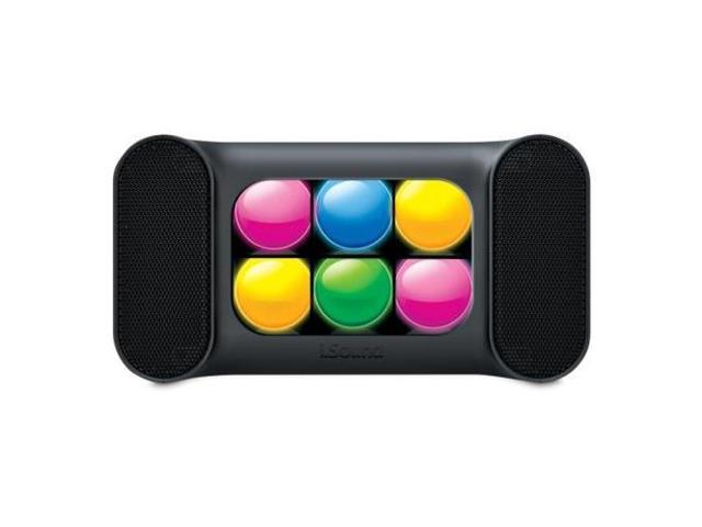 DREAMGEAR DG-iSound-5379 iGlowSound Mini Bluetooth Speaker Bk