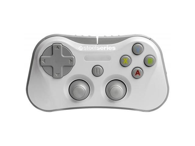 STEELSERIES 69017 STRATUS WL GAMING CONTROLLER WHITE / Wireless - Bluetooth - USBiPad, iPhone, iPod