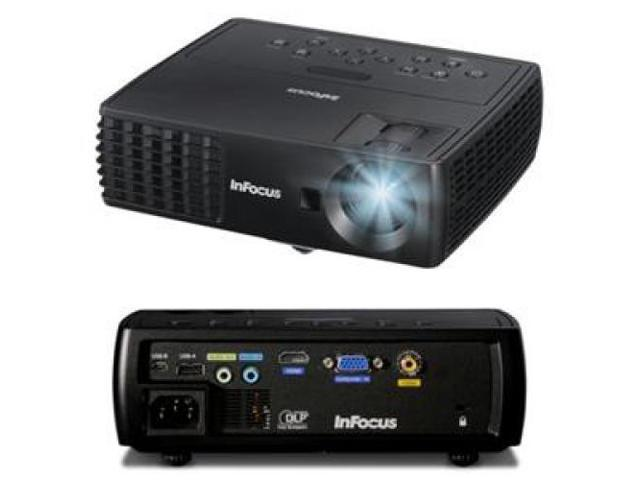 INFOCUS IN1110A IN1110A 3D Ready DLP Projector - 720p - HDTV - 4:3 2100 lm - HDMI - USB - VGA In - 185 W ...