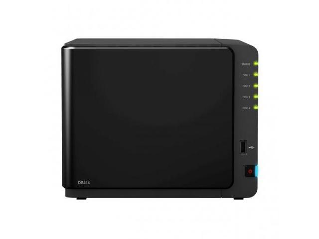 SYNOLOGY DS414 4300 DiskStation DS414 4300 High-Performance 4-Bay NAS Server for SMB and SOHO w/ 4x 3TB HDD
