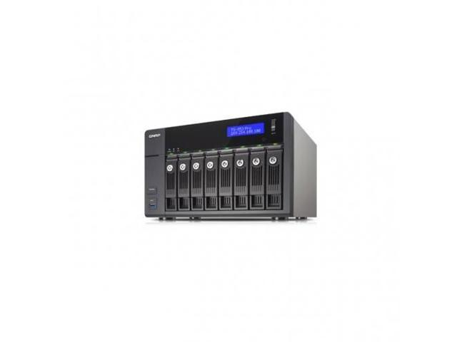 QNAP TS-853-PRO-8G-US TS-853-PRO-8G-US Intel Celeron 2.0GHz 8GB RAM 4GbE 8SATA3 USB3.0 8-Bay Tower NAS Server for SMBs