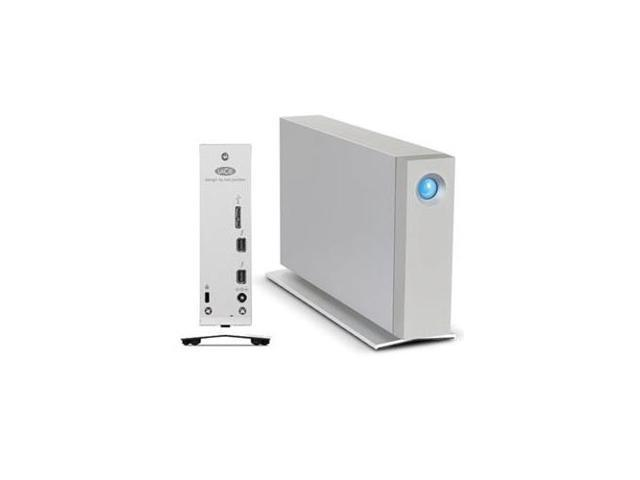 LACIE 9000493U d2 4 TB External Hard Drive Thunderbolt 2, USB 3.0 - 7200 rpm - 64 MB Buffer - 180 MBps Maximum Read Transfer ...