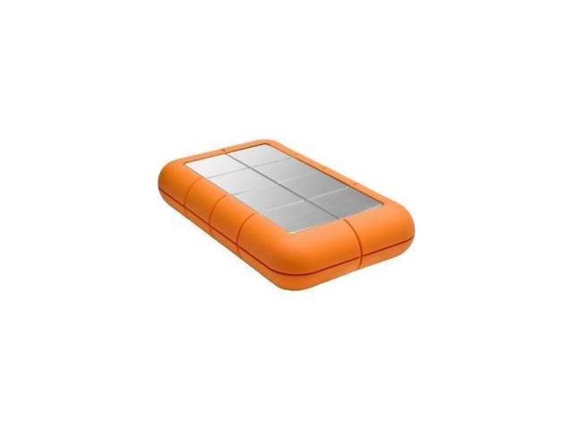 LACIE 9000488 Rugged 1 TB External Hard Drive Thunderbolt, USB 3.0 - SATA - 5400 rpm - 64 MB Buffer - 110 MBps Maximum Read ...