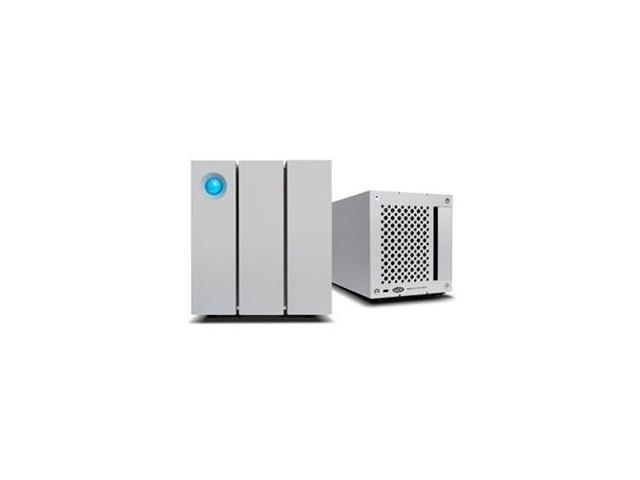 LACIE 9000438U 2big DAS Array - 2 x HDD Supported - 2 x HDD Installed - 8 TB Installed HDD Capacity 2 x Total Bays ...