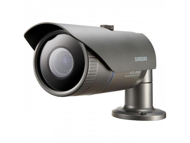 SAMSUNG SCO-2080 Samsung SCO-2080 Surveillance Camera - Monochrome, Color - 3.6x Optical - CCD - Cable