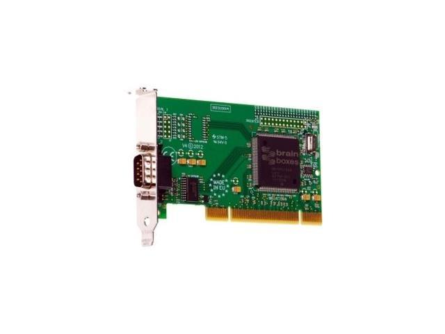 BRAINBOXES IS-150 1-port Serial Adapter - 1 x 9-pin DB-9 RS-232 Serial Universal PC